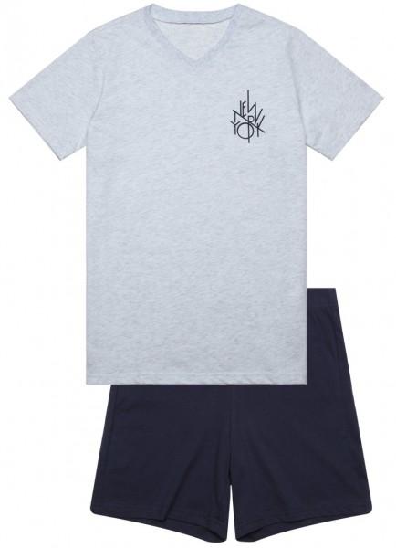 Jungen Schlafanzug mit Bermuda Hose