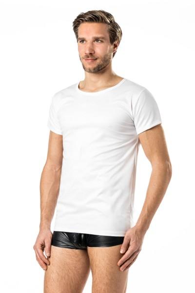 Verano Latex Herren Shirt 1/2 Arm- Vinyl -Shirt