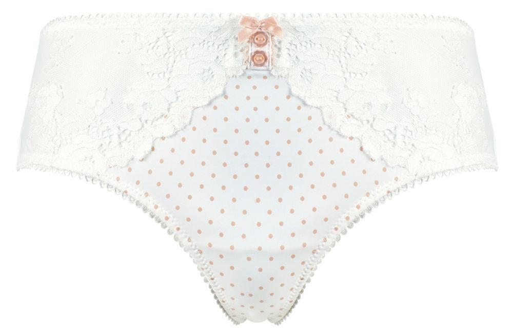 Bellivalini Damen Unterhose Slip mit Spitze Vorne BLVDA054