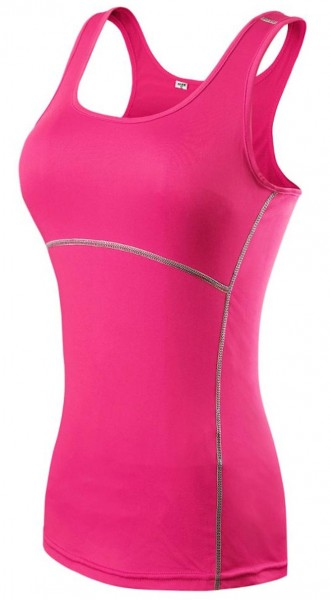 Verano Sport Ladies Sport Shirt - Functional Shirt Fitness Shirt without arm