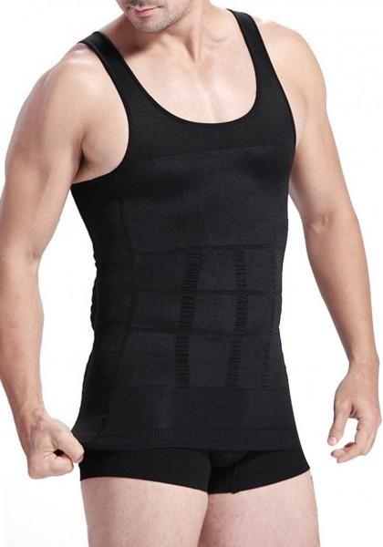 Verano Shaping Unterhemd figurformendes Unterhemd Bauchweg Bodyshaper für Herren