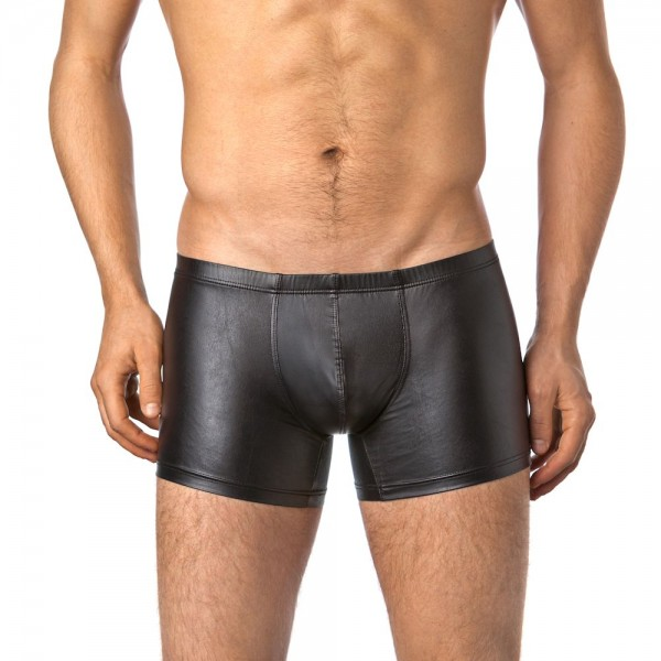 Verano Latex ähnliche Herren Shorts - Vinyl Wetlook Shorts