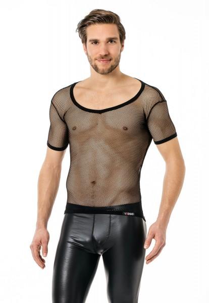 wholesale dealer 2a325 046b6 Verano transparentes Netzshirt 1/2 Arm Herren