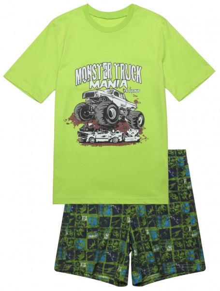 Jungen Schlafanzug mit Bermuda Hose VA-104104-700